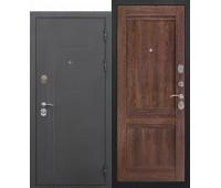 Металлическая дверь 10 см Троя муар Орех сиена Царга