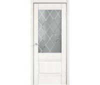 Межкомнатная дверь ALTO 2V, Белый Эмалит