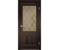 Межкомнатная дверь ALTO 2V, Орех Каштан
