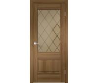 Межкомнатная дверь ALTO 2V, Орех Золотой