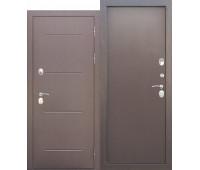 Металлическая дверь c терморазрывом Isoterma медный антик металл/металл