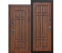 Металлическая дверь c терморазрывом Isoterma МДФ/МДФ Грецкий орех