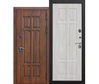 Металлическая дверь c терморазрывом Isoterma МДФ/МДФ Сосна белая