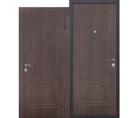 Металлическая дверь Классик Темный кипарис