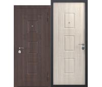 Металлическая дверь Виктория Лиственница Мокко