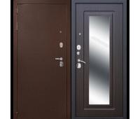 Металлическая дверь Дверной Континент Гарант-1 Зеркало Эко венге