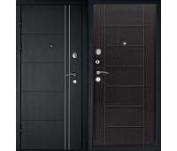 Металлическая дверь Дверной Континент Тепло-Люкс Венге