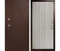 Металлическая дверь Дверной Континент Гарант-1 Сандал белый