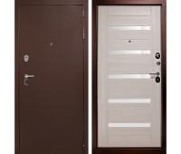 Металлическая дверь Дверной Континент ГАРАНТ-1 Царга  Лиственница беж