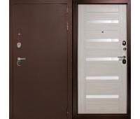 Металлическая дверь Дверной Континент ГАРАНТ-1 Царга  Капучино