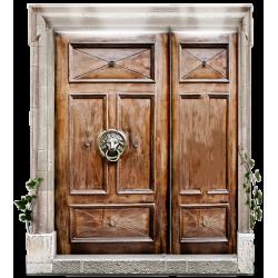 Двери двустворчатые (Смотреть)