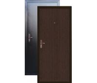Металлическая дверь Дверной Континент Промо Венге