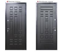 Металлическая дверь Логика Гранит-1
