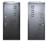 Металлическая дверь Логика Гранит-2