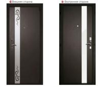 Металлическая дверь Логика Гранит Т3