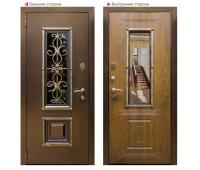Металлическая дверь Логика Антик (Ажур)