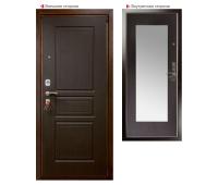 Металлическая дверь Логика Гранит М2 Люкс белёный дуб