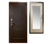Металлическая дверь Логика Гранит М3 белёный дуб