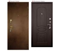 Металлическая дверь Логика ВИД-7 Лайт (венге)