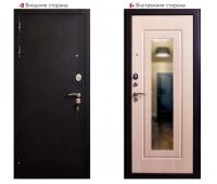 Металлическая дверь Аргус Респект Беленый Дуб