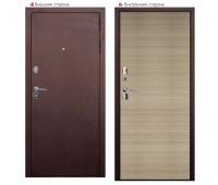 Металлическая дверь Аргус 4 Капучино