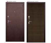 Металлическая дверь Аргус 4 Венге