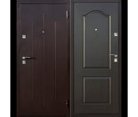 Металлическая дверь Стройгост венге
