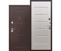 Металлическая дверь 7,5 Гарда Белый ясень