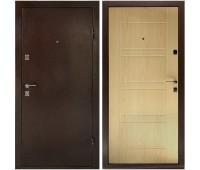 Металлическая дверь Дверной Континент Комфорт Беленый дуб