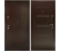 Металлическая дверь Дверной Континент Комфорт Венге