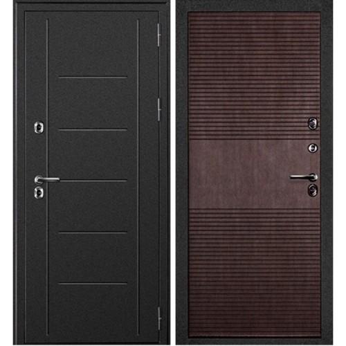 Металлическая дверь Дверной Континент Термаль Премиум Венге