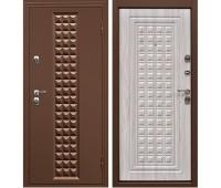Металлическая дверь Дверной Континент Контур Белёный дуб