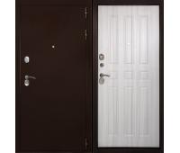 Металлическая дверь Дверной Континент Гарант Беленый дуб