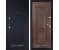 Металлическая дверь Дверной Континент Лайн венге