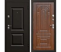 Металлическая дверь Дверной Континент Гранд Орех