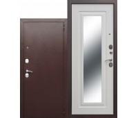Металлическая дверь Царское зеркало Белый ясень