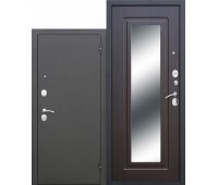 Металлическая дверь Царское зеркало Муар Венге