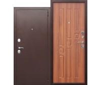 Металлическая дверь Гарда 8 мм Рустикальный дуб