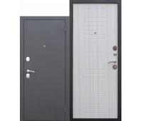 Металлическая дверь Гарда МУАР 8 мм Белый ясень
