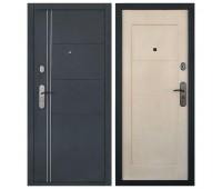 Металлическая дверь Форпост А 428 беленый дуб