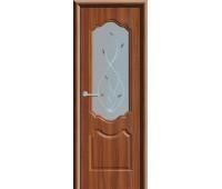 Межкомнатная дверь ПО Анастасия темный орех