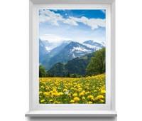Окно Reachmont одностворчатое 60 мм однокамерное