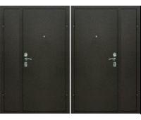"""Дверь двустворчатая внутреннего открывания уличная Тайзер КОЛЛЕКЦИЯ """"ЭГИДА 1Д"""" М-М"""