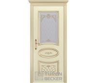 Межкомнатная дверь TUREN BECKER Прованс В3 ПО Слоновая кость
