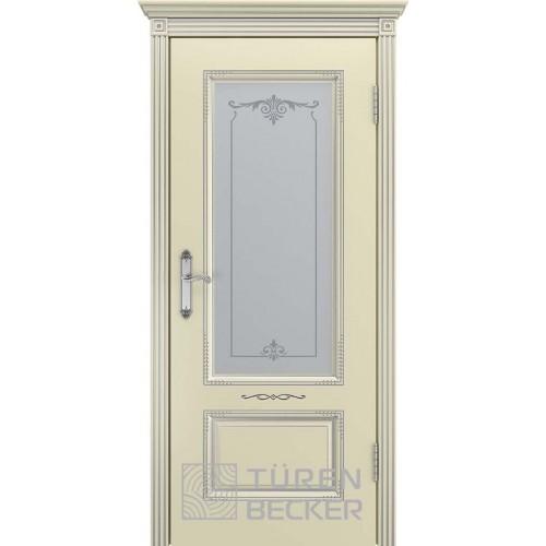 Межкомнатная дверь TUREN BECKER Венеция В2 ПО Слоновая кость (Витринный образец)