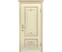 Межкомнатная дверь TUREN BECKER Венеция В3 ПГ Слоновая кость