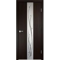 Межкомнатная дверь Velldoris SMART Z2 зеркало Венге
