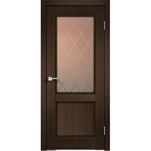 Межкомнатная дверь Velldoris CLASSICO 2V Мокка