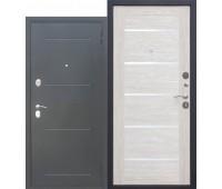Металлическая дверь 7,5 Гарда Муар ЦАРГА Лиственница беж