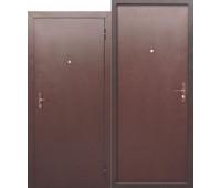 Металлическая дверь Стройгост 5 РФ металл/металл